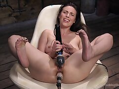 Impenetrable depths bonking contraption anal sense from a gorgeous model