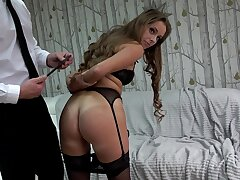 Submissive amateur loves being recorded when humped with an increment of fucked so hard