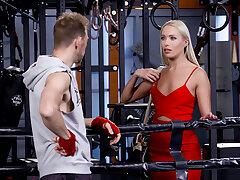 Rocco's Fitness Sluts: Teen Print run - Scene 4