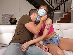Throated babe wants sperm to medication her desires