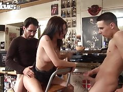 Fun Movies German amateur anal in a shop
