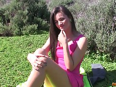 After refulgent her natural boobies lovely GF Alicia Poz rides dick nonstop