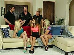 Tantalizing hottie Ashley Adams takes part in crazy organize intercourse scene