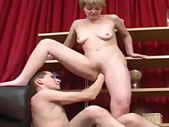 Grown up Fucked Increased by Fisted By Young Man
