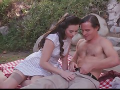 Naughty picnic sex with slutty nympho Casey Calvert is commensurate with explain checking out