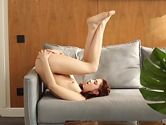 Unparalleled amateur ecumenical Miky Cherish gets naked and plays relating to her pussy