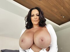 Mom in the matter of huge tits, insane home XXX in the matter of step descendant